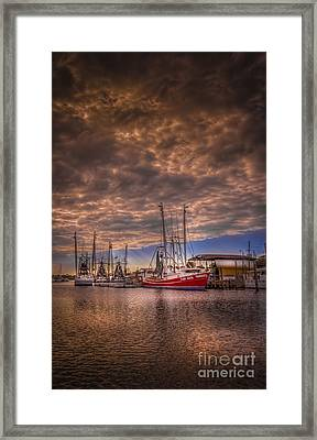 The Captain Jack Framed Print