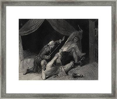 The Capture Of Lord Edward Fitzgerald Framed Print by Vintage Design Pics