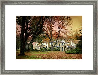 The Caramoor Estate Framed Print