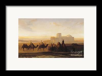 Sahara Framed Prints
