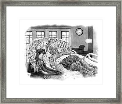 The Caregiver Framed Print by Peter Piatt