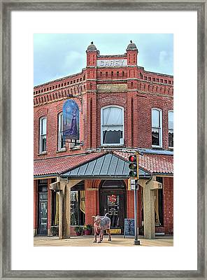 The Carey Building Framed Print by JC Findley