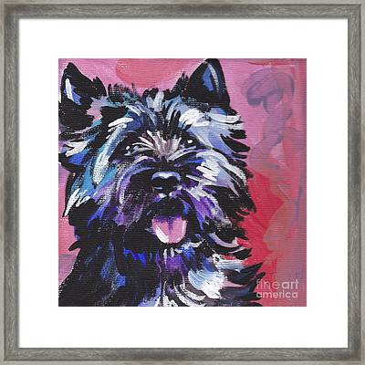 The Caring Cairn Framed Print