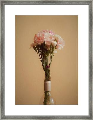 The Carnations Framed Print by Ernie Echols