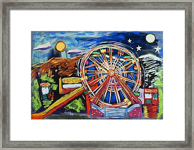 The Carnival Concoction Framed Print by Albert  Almondia