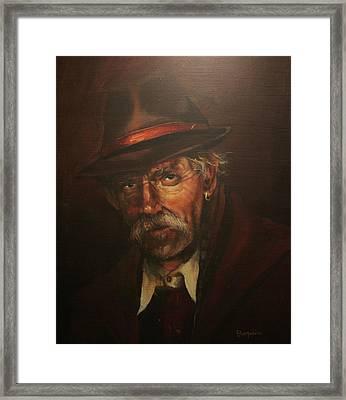 The Carny Framed Print by Tom Shropshire