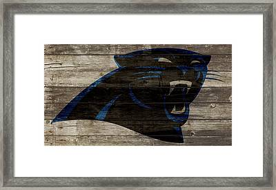 The Carolina Panthers 2w Framed Print by Brian Reaves