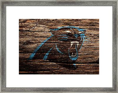 The Carolina Panthers 4a Framed Print by Brian Reaves