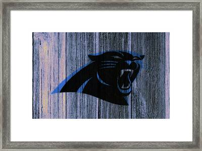The Carolina Panthers C4 Framed Print by Brian Reaves