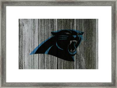 The Carolina Panthers C5 Framed Print by Brian Reaves