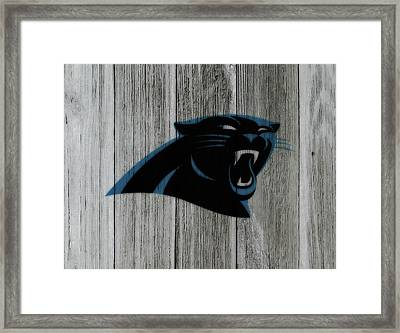 The Carolina Panthers C6 Framed Print by Brian Reaves