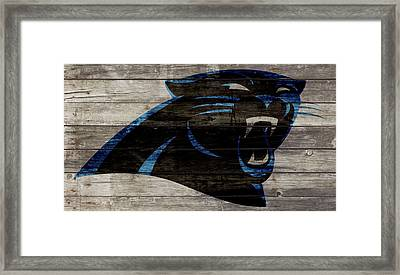 The Carolina Panthers W1 Framed Print by Brian Reaves
