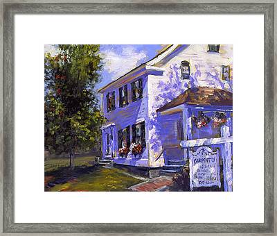The Carpenters House Framed Print