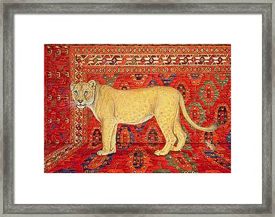 The Carpet Mouse Framed Print by Ditz