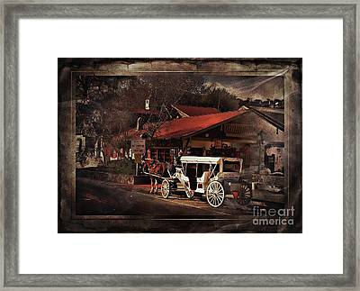 The Carriage Framed Print
