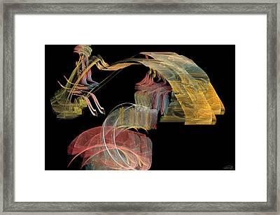 The Carriage Framed Print by Emma Alvarez
