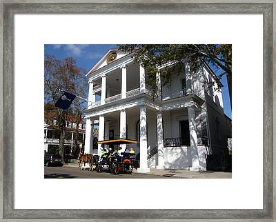 the Carriage Tour Framed Print