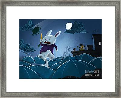 The Carrot Thief Framed Print