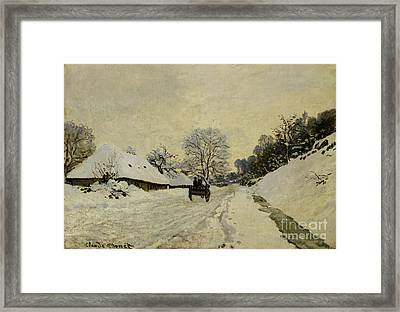 The Cart Framed Print