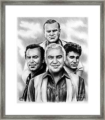 The Cartwrights Framed Print
