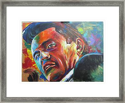 The Cash Man Framed Print