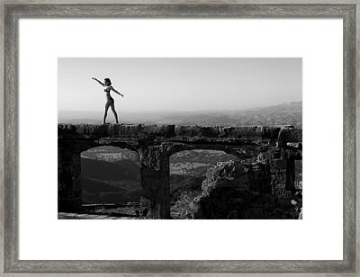 The Castle 2 Framed Print by Matthew Hill