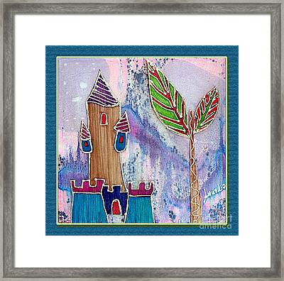 The Castle Cares Framed Print by Aqualia