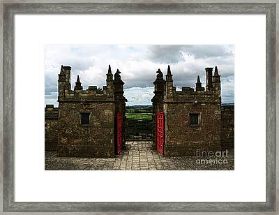 The Castle Gates Framed Print by Louise Heusinkveld