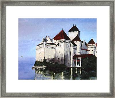 The Castle Framed Print by Stan Hamilton