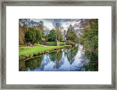 The Castle Walk Framed Print