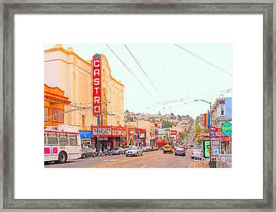 The Castro In San Francisco Framed Print
