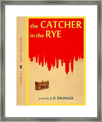 The Catcher In The Rye Book Cover Movie Poster Art 4 Framed Print
