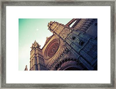 The Cathedral Of Light Framed Print