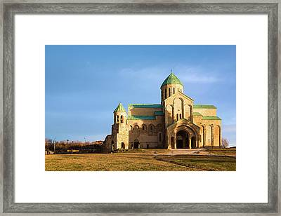 The Cathedral Of The Dormition Framed Print by Svetlana Sewell