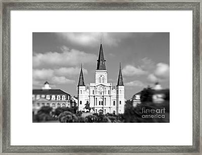 The Cathedral - Bw Framed Print
