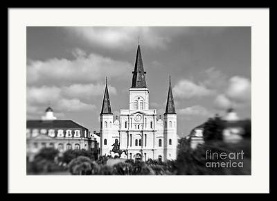 St Louis Cathedral Framed Prints