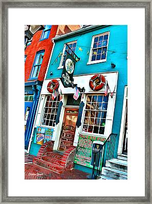 The Cat's Eye Pub Framed Print