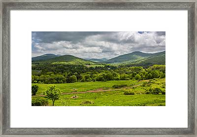 Framed Print featuring the photograph The Catskill Mountains by Paula Porterfield-Izzo