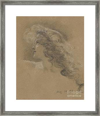 The Cave Of The Storm Nymphs Framed Print