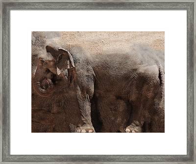 Framed Print featuring the digital art The Cave by Robert Orinski