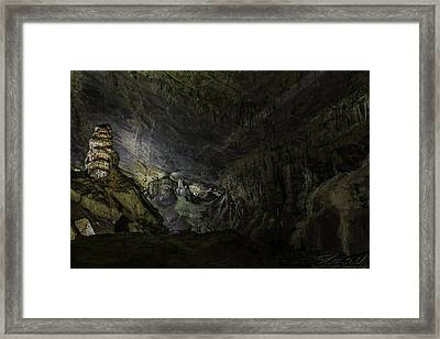 The Cavern Framed Print