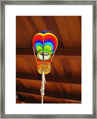 The Ceiling Lamp - Mm Framed Print by Leonardo Digenio