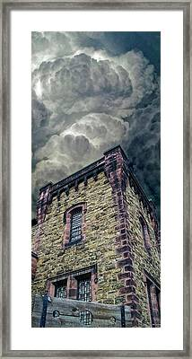 Framed Print featuring the photograph The Cell Block Restaurant by Greg Reed