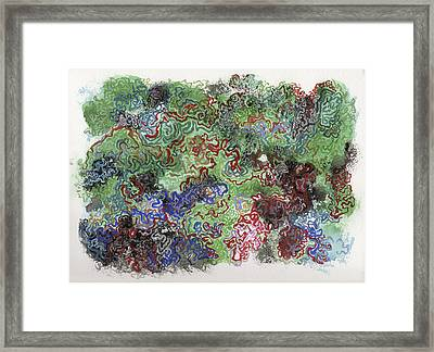 The Cell Never Rests 2 Framed Print