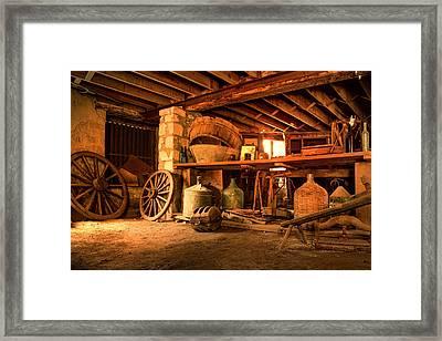 The Cellar Framed Print