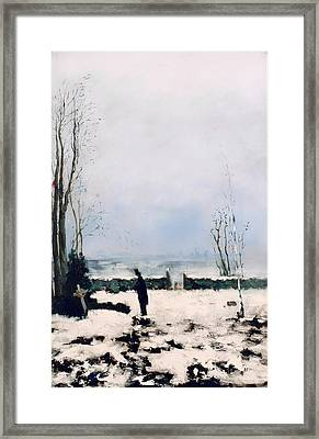 The Cemetery Framed Print by Mountain Dreams