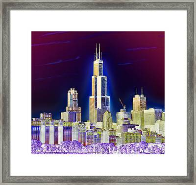 The Center Of Attention 2 Framed Print by Donald Schwartz