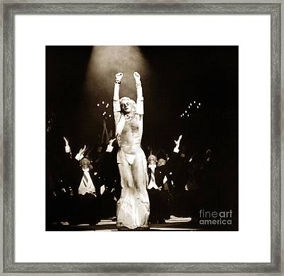 The Center Of Attention  Framed Print by Art Graeco