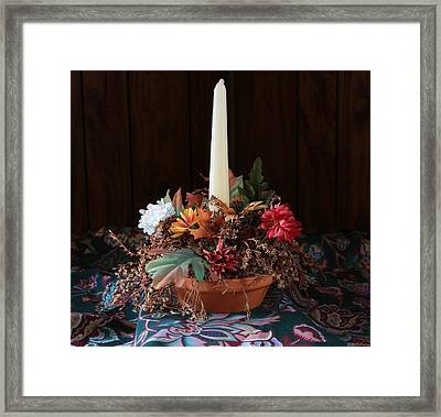 The Centerpiece Framed Print