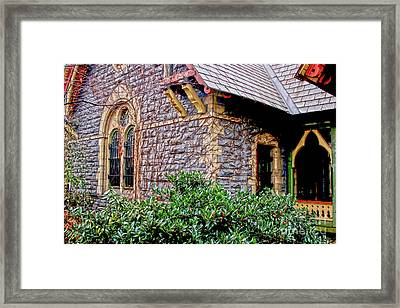 Central Park Dairy Cottage Framed Print